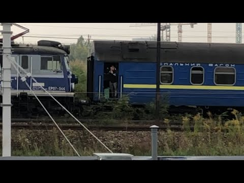 Ukraińska kontrabanda na pokładzie TLK 21010 Kiev Express - podejrzana sytuacja w pociągu Intercity
