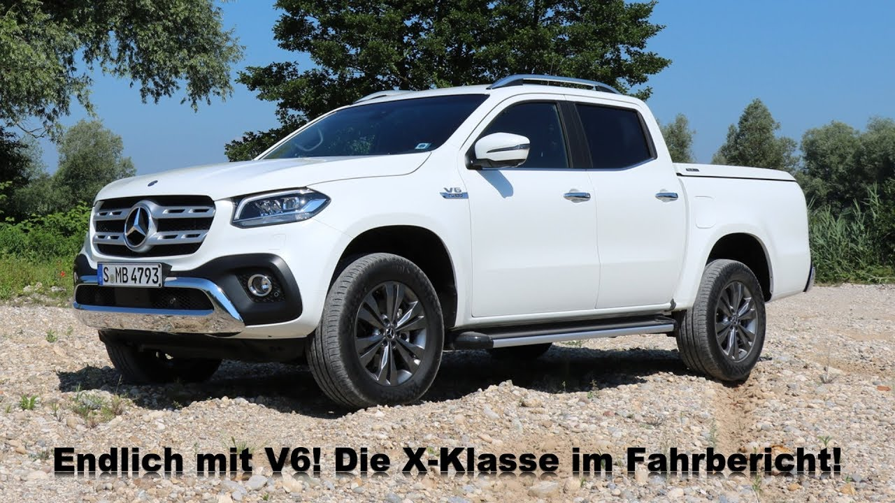 2018 mercedes benz x350d 4matic x klasse mit v6 diesel. Black Bedroom Furniture Sets. Home Design Ideas