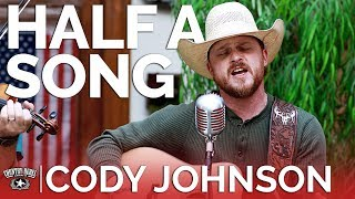 Cody Johnson - Half A Song (Acoustic) // Country Rebel HQ Session