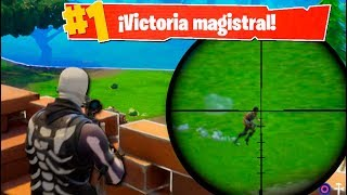 SNIPER LEGENDARIO!! Fortnite: Battle Royale (PS4)