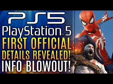 Playstation 5 (PS5) - Official Details Revealed by Sony! Specs, 8K Graphics! Release Date 2020?