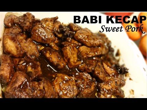Resep Babi Kecap Enak Delicious Sweet Pork Recipe Youtube
