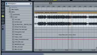 Как  порезать микс на треки при помощи Ableton Live