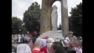 Празднование Явления Пресвятой Богородицы(Празднование Явления Пресвятой Богородицы граду Луганску, 14 июня 2014, начало крестного хода с Луганской..., 2014-06-14T17:57:53.000Z)