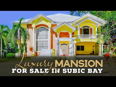 Luxury Mansion for sale in Subic Bay