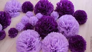 цветы из бумаги своими руками для свадьбы