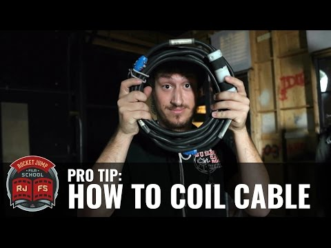 Pro Tip: How to Coil (or Wrap) Cable