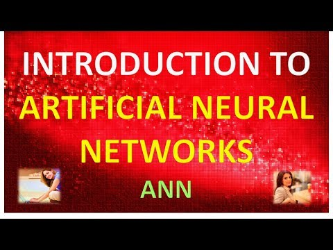 INTRODUCTION TO ARTIFICIAL NEURAL NETWORKS ANN