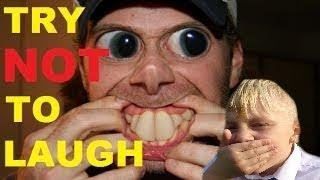 try not to laugh challenge with ray games