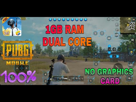 how to play pubg mobile on pc without graphic card low end pc 2019