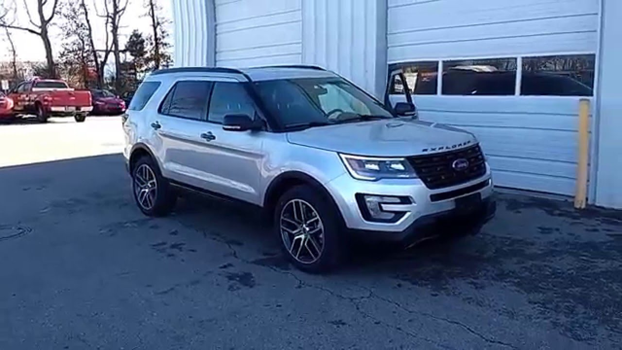 ingot silver 2016 explorer sport 4wd 35l eboboost 401a 2nd row buckets ofallon marshall ford