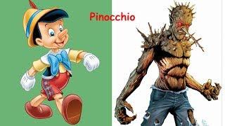 Disney Characters As Vilaiins | Disney Princesses As Monsters