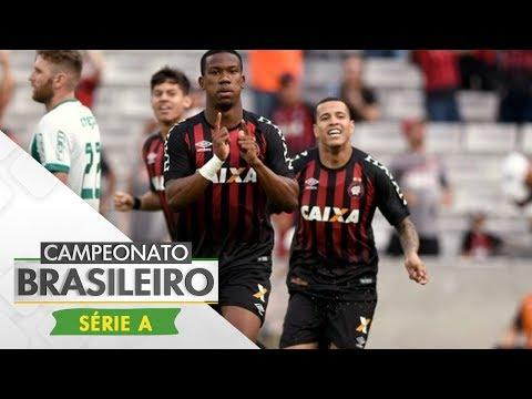 Melhores Momentos - Atlético-PR 3 x 0 Palmeiras - Campeonato Brasileiro (03/12/2017)