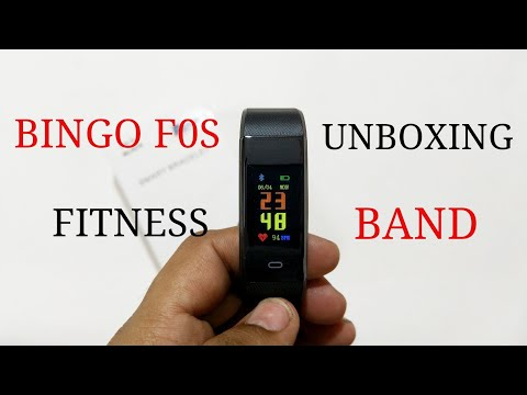 Bingo F0S Fitness Band Unboxing & Review