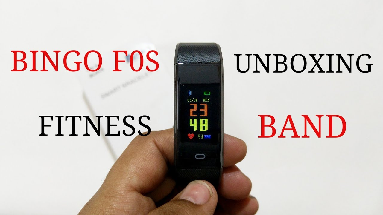 Repeat Bingo F0S Fitness Band Unboxing & Review by Tech2care