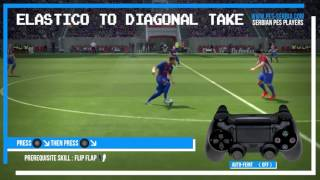 PES 2017 All Tricks and Skills Tutorial PS4, PS3