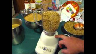 Make Your Own High Protein Chick Starter & Game Bird Feed!