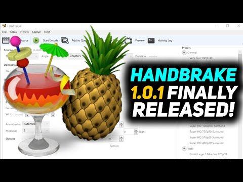 HandBrake 1.0.1 Overview - Finally Released!
