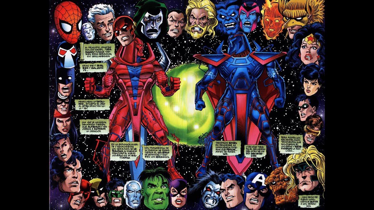 Marvel vs DC - Loquendo - YouTube
