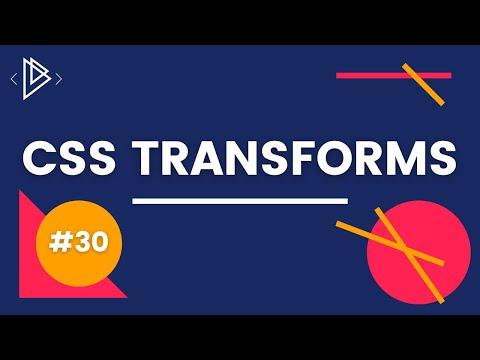 #30 CSS Transform Property - CSS Full Tutorial