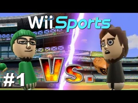 """Let's Play Wii Sports Episode 1 """"Ballistic Baseball"""""""