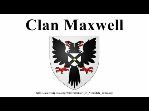 Clan Maxwell
