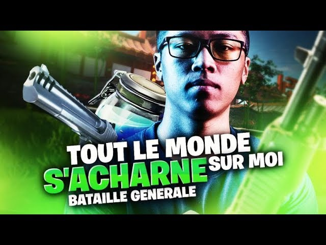 BATAILLE GENERALE - TOUT LE MONDE S'ACHARNE SUR MOI