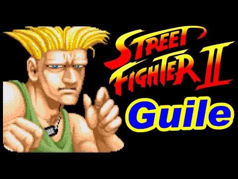 [58歳] ガイル(Guile) ノーコンティニュークリア - STREET FIGHTER II / ストリートファイターII [初代ストII]