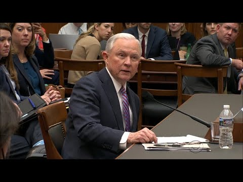 Lawmakers ask Sessions about Roy Moore allegations