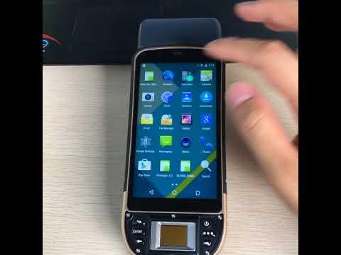 KT50 Fingerprint scanner