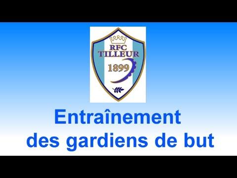 Entraînement des gardiens de but du RFC Tilleur
