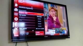 Arçelik Televziyonun Internete Bağlanmasi