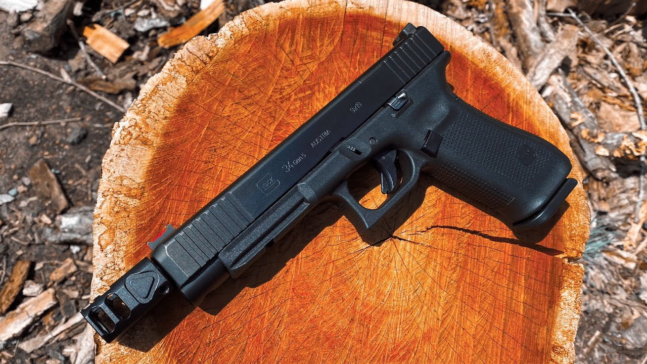 Igb Austria Glock 34 Gen 5 Threaded Barrel Review Youtube Glock's ndlc finish is tougher, more durable, and is on both the barrel and the slide. igb austria glock 34 gen 5 threaded barrel review