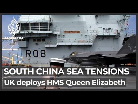 UKが南シナ海に空母を派遣 AlJazeera 英語の記事を読もう