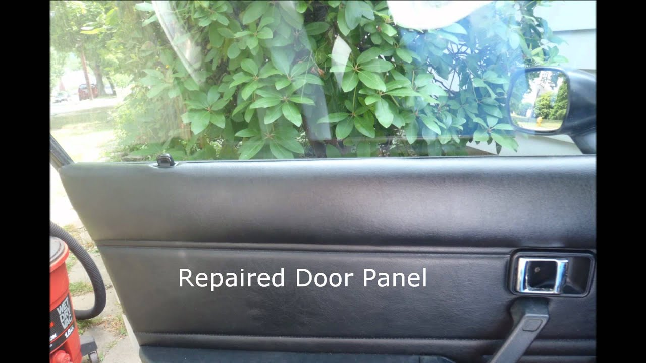 1981 Mazda Rx7 Seat Door Panel Repair Results Youtube