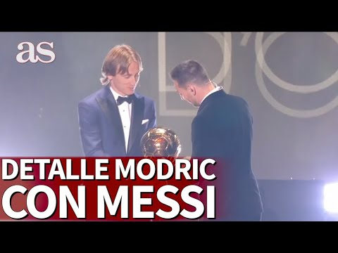Balón De Oro Las Bonitas Palabras De Modric A Messi Al