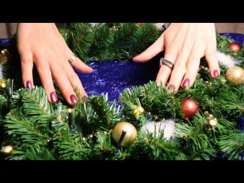 ASMR ~ Christmas Decoration Video. Soft Speaking Russian Accent ASMR