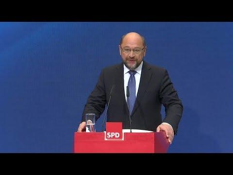 """Martin Schulz: """"Merkel kann gerne Vizekanzlerin in meinem Kabinett werden"""""""