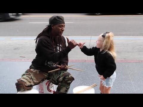 BECOMING BEST FRIENDS WITH STREET PERFORMER