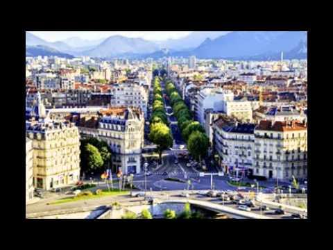 La Ville De Grenoble ( France )