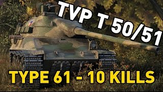 World of Tanks || Type 61 and TVP T 50/51 /w Jingles!