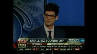 Gregory Zamfotis, CEO of Gregorys Coffee on Fox Business