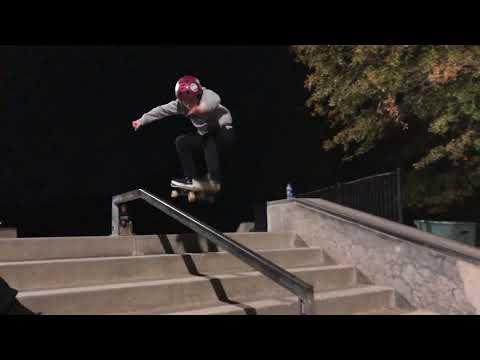 First 50-50 Down stair handrail