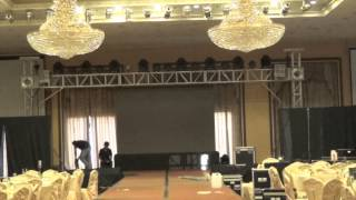 Ditta Sandico Fashion Show, Time-lapse Event Set-up