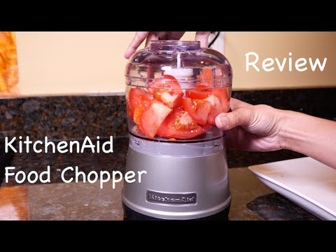 Kitchenaid Vegetable Chopper kitchenaid food chopper review - youtube