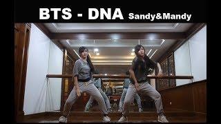 Video BTS (방탄소년단) DNA Dance Cover by Sandy&Mandy download MP3, 3GP, MP4, WEBM, AVI, FLV Juni 2018