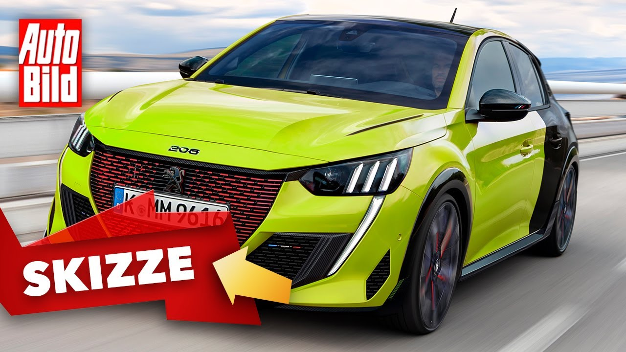 Peugeot 208 PSE/GTi (2021): Neuvorstellung - Skizze - Antrieb - Info