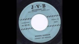 JOHNNY LEE HOOKER - BOOGIE RAMBLER - JVB