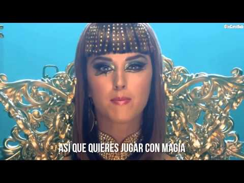 Katy Perry ft Juicy J  Dark Horse Traducida al Español Video Oficial