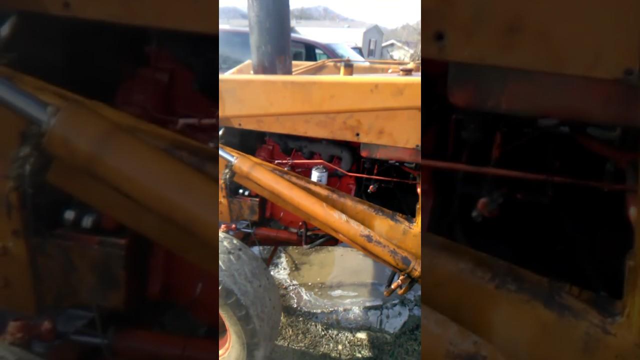 580B Case Backhoe rebuild